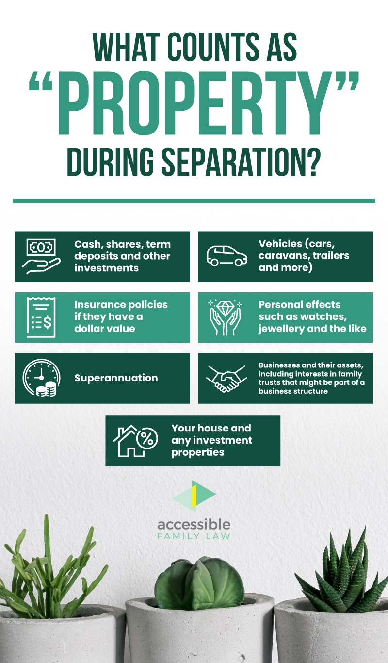 What Counts as Property During Separation